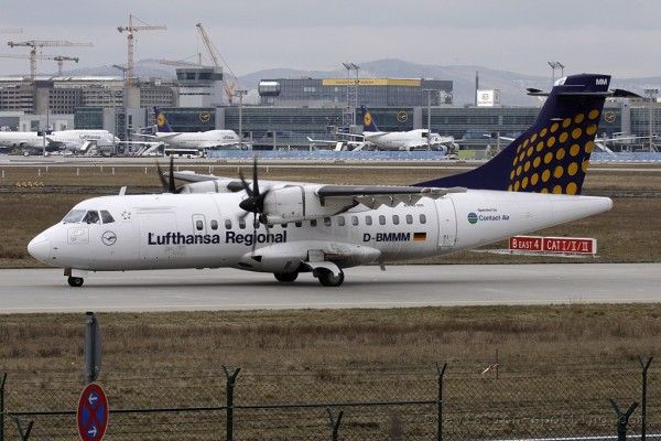 Lufthansa Regional (Contact Air) Aerospatiale ATR42 (Germany)