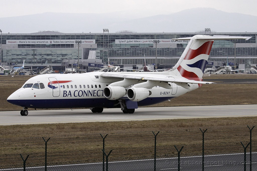 BA Connect BAe Avro RJ-100 (UK)