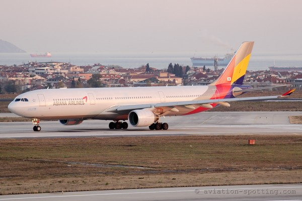 Asiana Airlines Airbus 330-300 (South Korea)