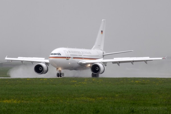 German Air Force Airbus 310
