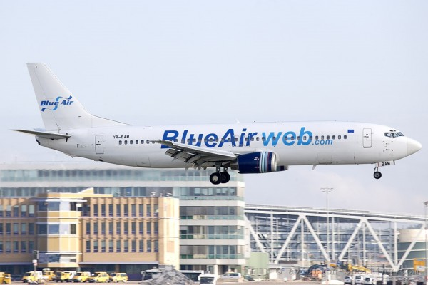 Blue Air Boeing B737-400 (Romania)