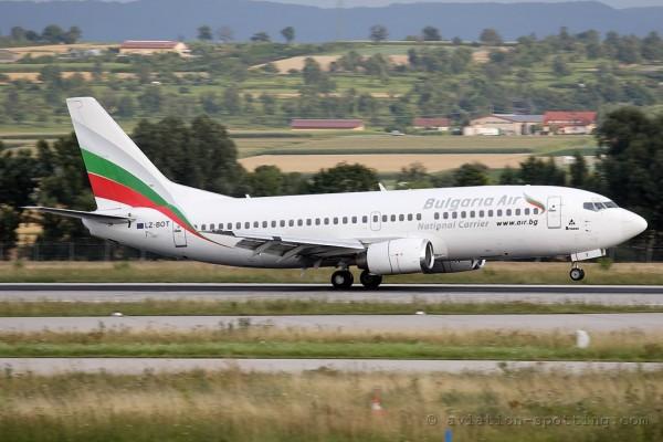Bulgaria Air Boeing B737-300