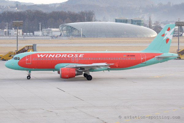 Windrose Airlines Airbus 320 (Ukraine)