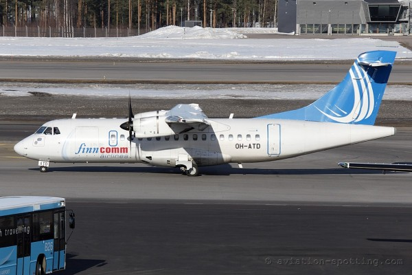 Finncomm Airlines Aerospatiale ATR42 (Finland)