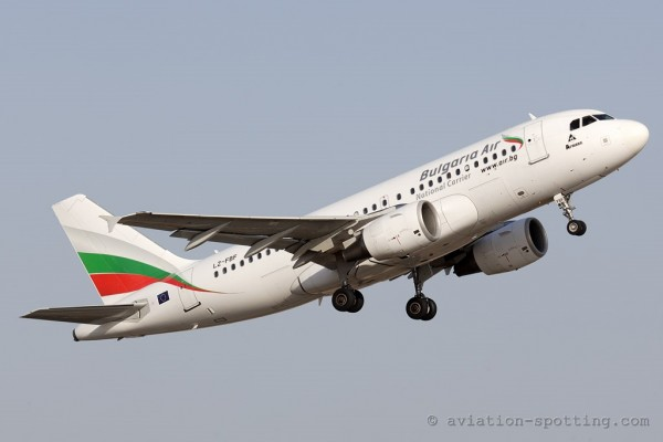 Bulgaria Air Airbus 319