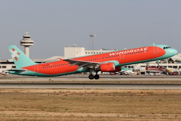 Windrose Airlines Airbus 321 (Ukraine)