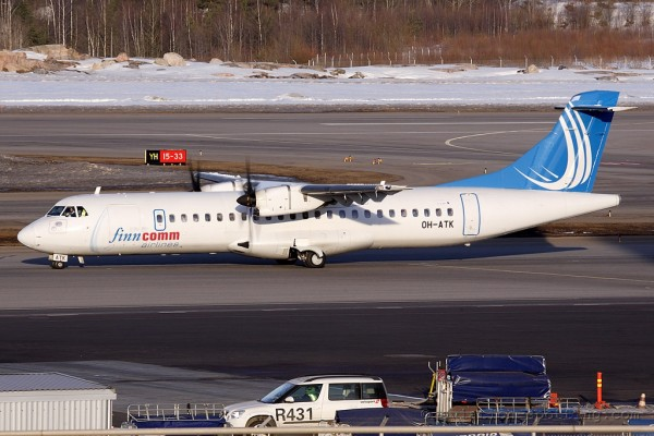 Finncomm Airlines ATR72 (Finland)