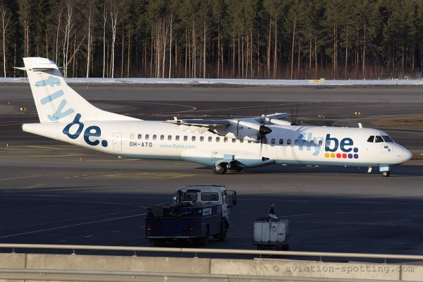 FlyBe Nordic ATR72 (Finland)