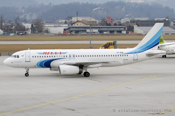 Yamal Airlines Airbus 320 (Russia)