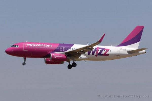 Wizz Air Airbus 320 (Hungary)