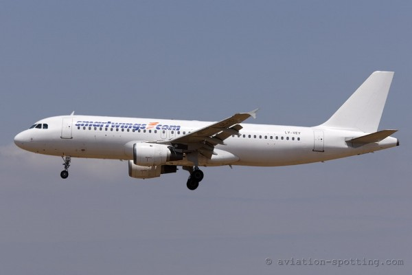 Smart Wings Airbus 320 (Czech Republic)