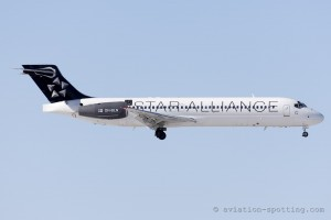 Blue1 Boeing B717 Star Alliance colours (Finland)