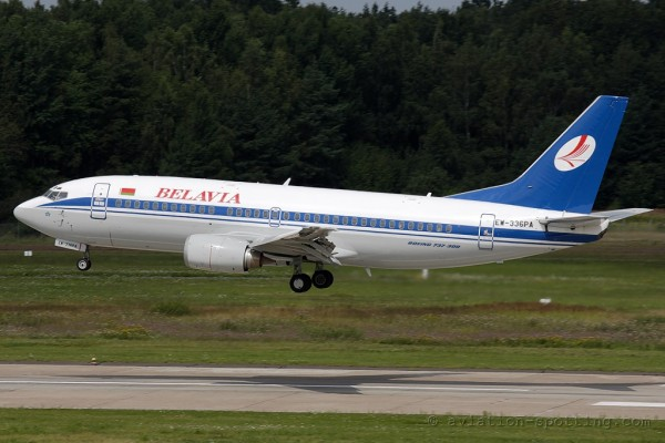 Belavia Belarusian Airlines Boeing B737-300