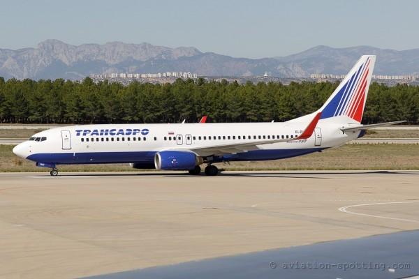 Transaero Airlines Boeing B737-800 (Russia)