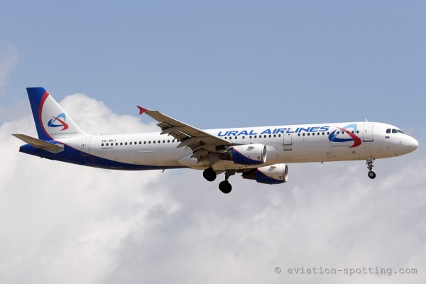 Ural Airlines Airbus 321 (Russia)