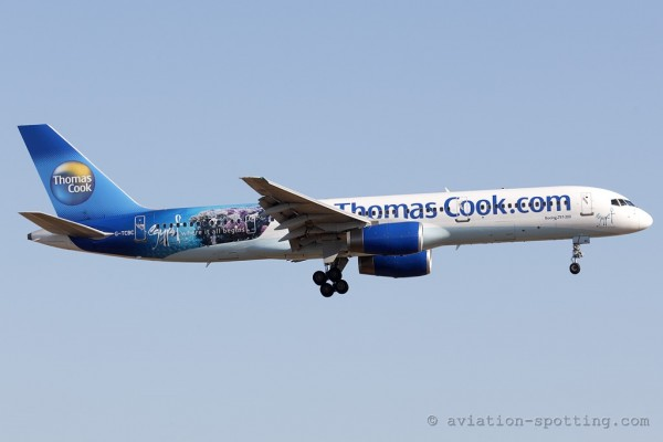 Thomas Cook Boeing B757-200 (UK) egypt special livery