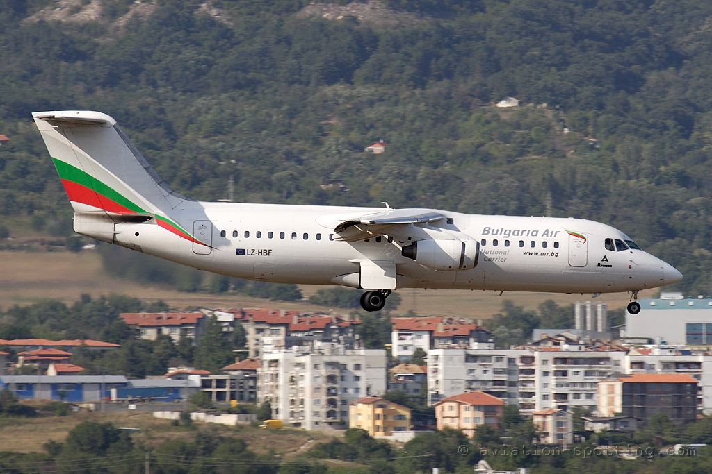 Bulgaria Air BAe 146-300