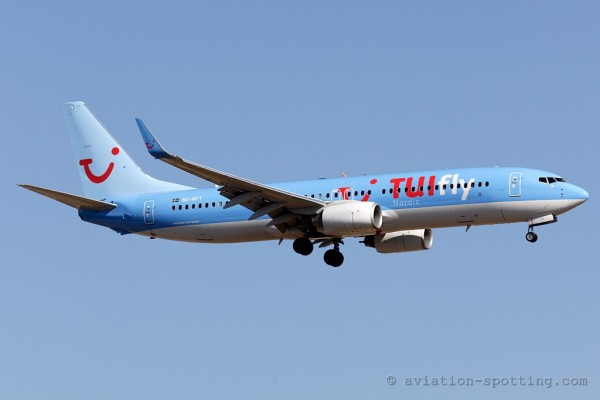 TUIfly Nordic Boeing B737-800 (Sweden)