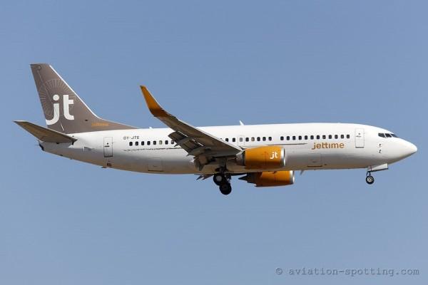 Jet Time Boeing B737-300 (Denmark)
