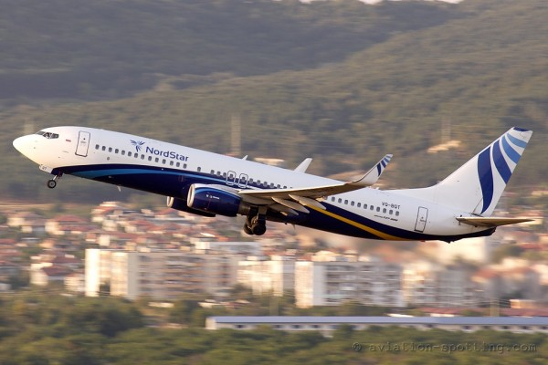 NordStar Boeing B737-800 (Russia)