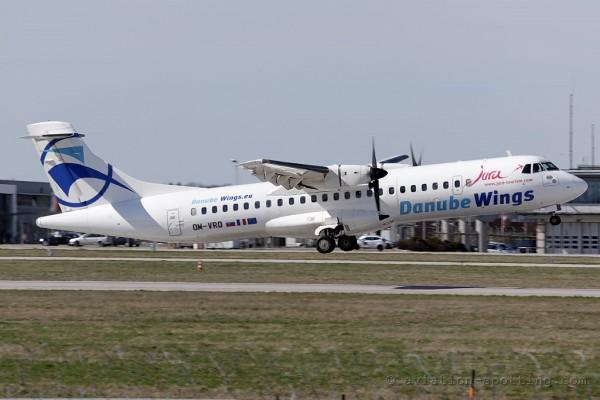 DanubeWings ATR72 (Slovakia)