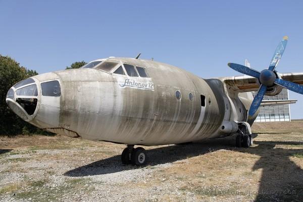 Antonov 12 preserved at Bourgas, Bulgaria