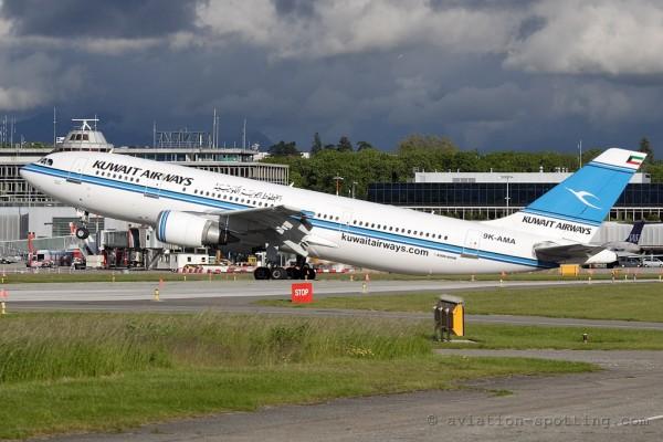 Kuwait Airways Airbus 300