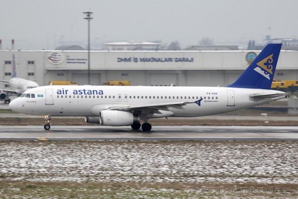 Air Astana Airbus 320 (Kazakhstan)