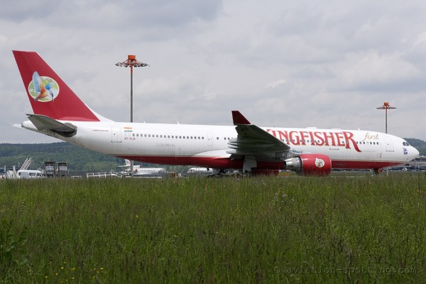 Kingfisher Airlines Airbus 330-200 (India)