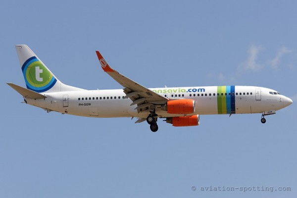 Transavia Airlines Boeing B737-800 (Netherlands)