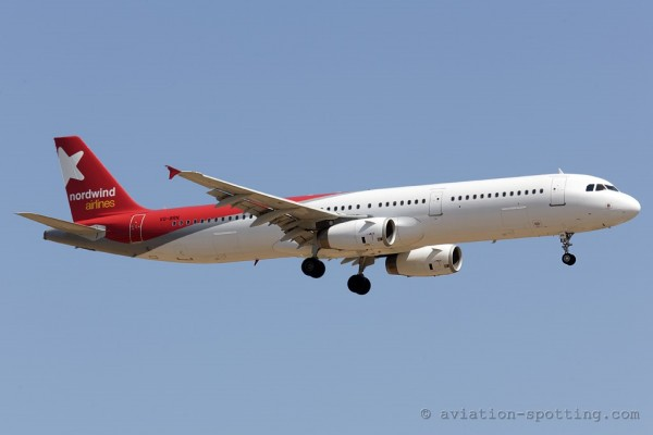 Nordwind Airlines Airbus 321 (Russia)