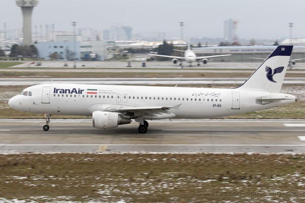 Iran Air Airbus 320