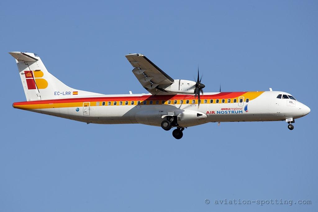 Iberia Regional (Air Nostrum) ATR72 (Spain)
