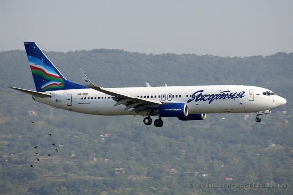 Yakutia Airlines Boeing B737-800 (Russia)