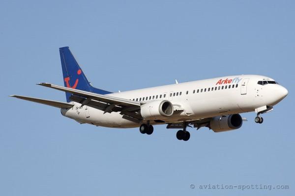 Arke fly Boeing B737-400 (Netherlands)