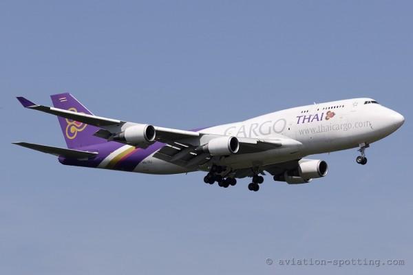 Thai Cargo Boeing B747-400 F