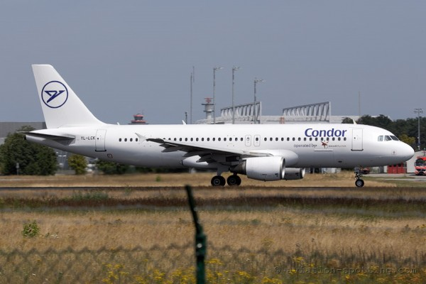 Condor (SmartLynx Airlines) Airbus 320 (Germany)