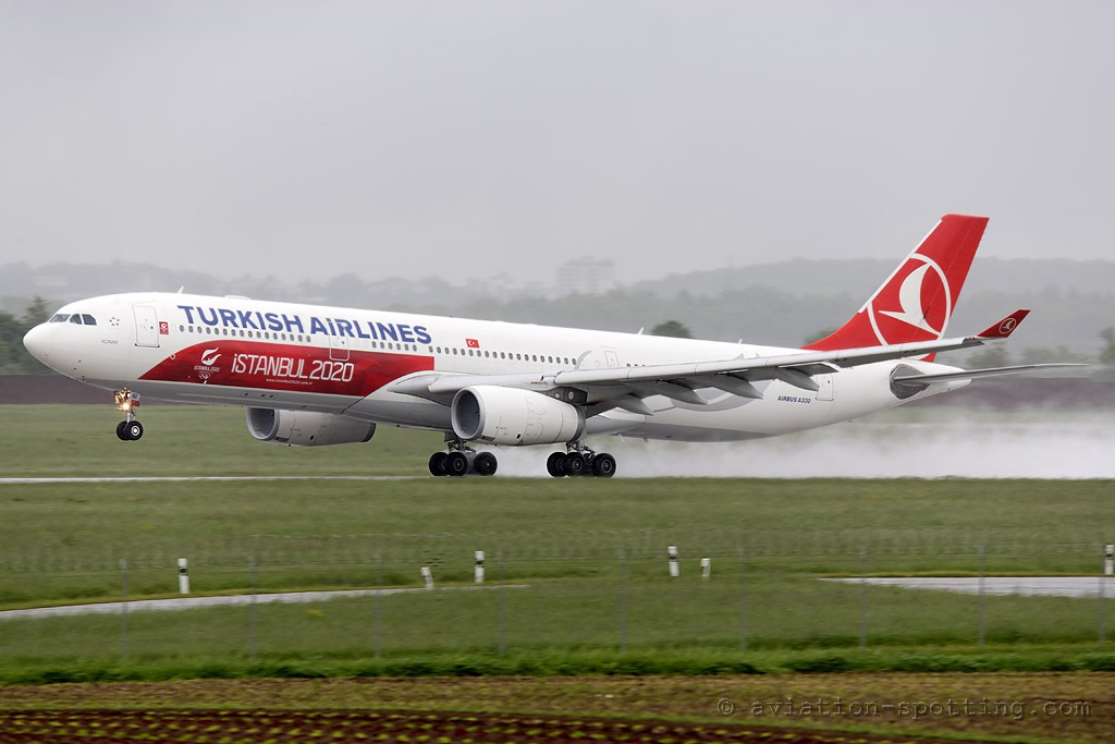 Turkish Airlines Airbus A330-300 Istanbul 2020 special colours