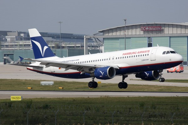 Hamburg Airways Airbus 320 (Germany)