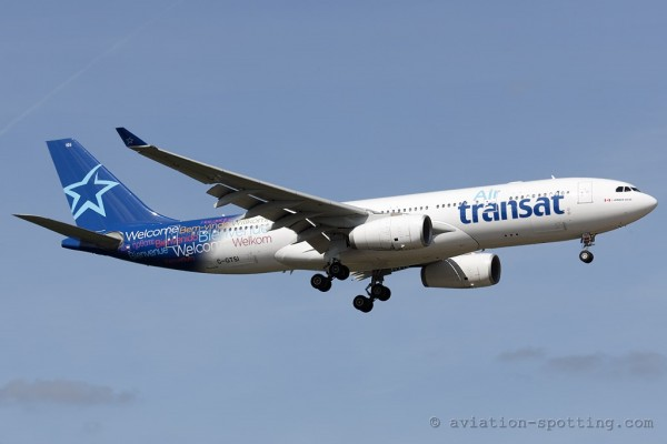 Air Transat Airbus 330-200 (Canada)