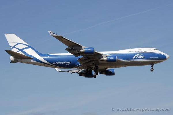 AirBridge Cargo Boeing B747-400 F (Russia)