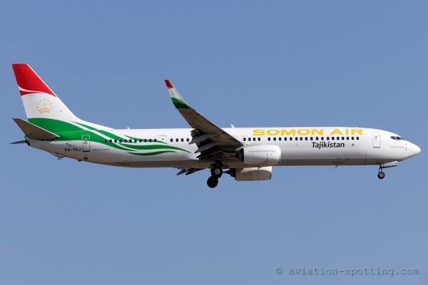 Somon Air Boeing B737-900 (Tajikistan)