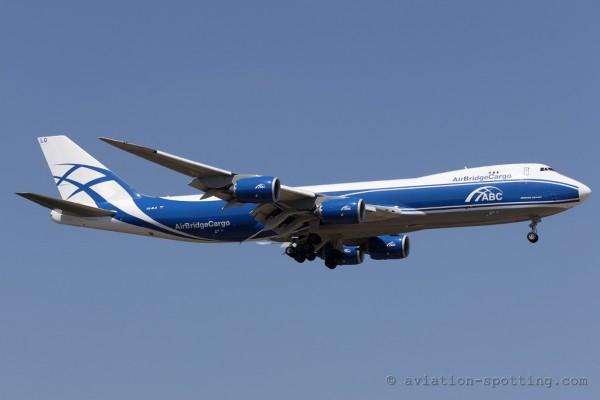 AirBridge Cargo Boeing B747-8F (Russia)