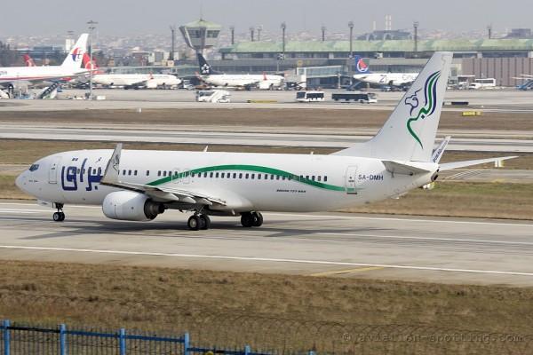 Buraq Air Boeing B737-800 (Libya)
