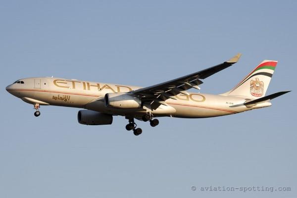 Etihad Crystal Cargo Airbus 330-200 F (UAE)