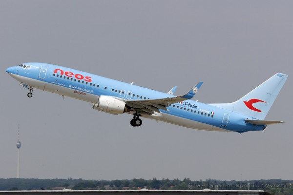 Neos S.p.A. Boeing B737-800 (Italy)