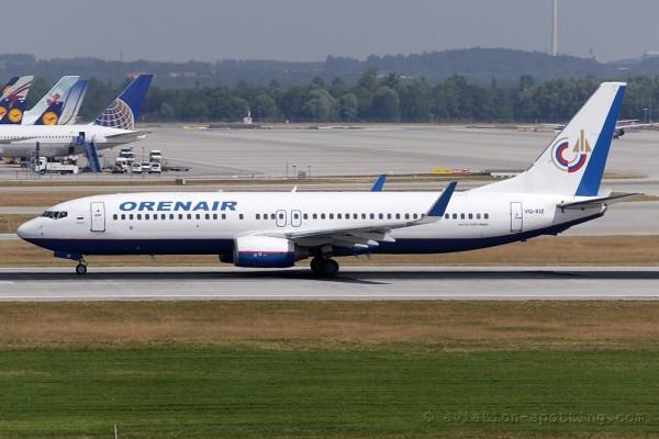 Orenair Boeing B737-800 (Russia)