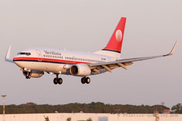 Meridiana Boeing B737-700 (Italy)