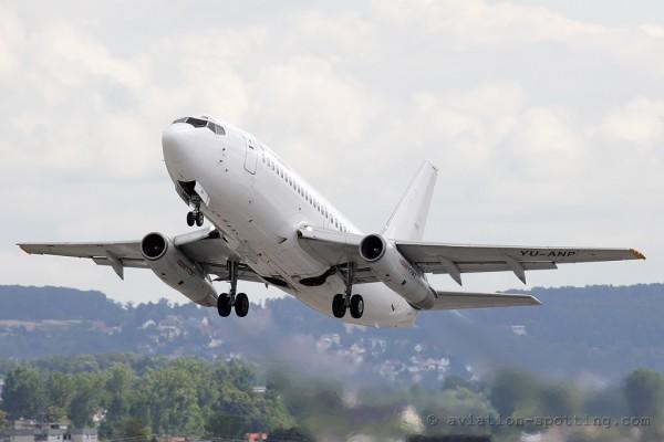 Aviogenex Boeing B737-200 (Serbia)