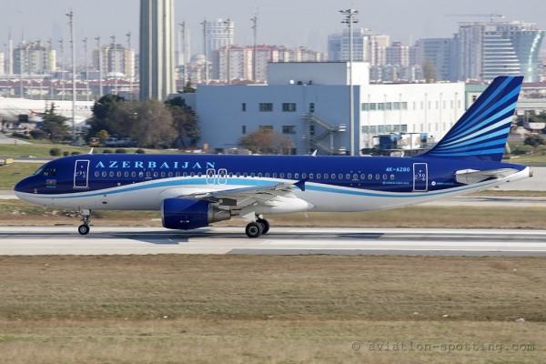Azerbaijan Airlines Airbus 320